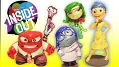 I'm back to show you Disney Pixar 'Inside Out' deluxe figurine play set! Inside Out Toys, Rainbow Toys, Bing Bong, Rainbow Unicorn, Sadness, Disney Pixar, Joy, Actors, Christmas Ornaments