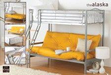 Alaska Futon Bunk Bed  £298.99
