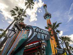 Falcon's Fury   Busch Gardens Tampa