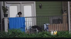 Outraged by what she saw on her neighbor's balcony in Dallas, where temperatures reached more than 100 degrees,Cassandra Clark took action.  Clark noticed the crying husky when walking her own dogs a few days before her June 20 post.  The husky had no food or water, she said.