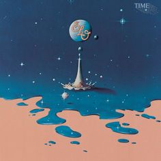 The studio album by Electric Light Orchestra was released in At that time, the theme was considered very futuristic and ahead of its time. It's also the first major concept album devoted to time travel. Lp Vinyl, Vinyl Records, Elo Albums, Music Albums, Cover Art, Amazon Top, Nostalgia, Jeff Lynne, 70s Sci Fi Art