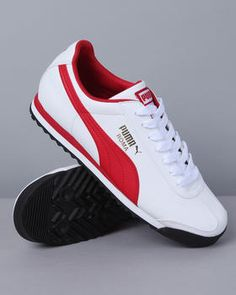 Classic Roma sneakers by Puma. Always a winner. #puma #sneakers