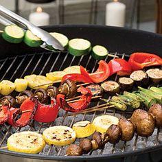 Summer Vegetable Kabobs | MyRecipes.com