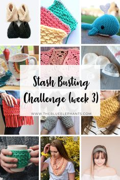 Week 3 of the stash busting challenge is here! Grab over 30 free crochet patterns to use up your stash and make something awesome! Modern Crochet Patterns, Crochet Patterns For Beginners, Knitting For Beginners, Knitting Patterns Free, Free Pattern, Crochet Christmas Gifts, Crochet Gifts, Fast Crochet, Beginner Crochet