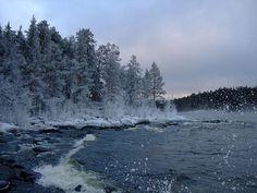 Остров Валаам и Ладожское озеро зимой