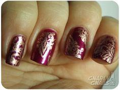 Gnarly Gnails: 33DC - Indian