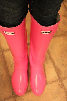 Hunter boots <3