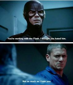 Leonard Snart, the most amazing bad guy ever, next to Loki of course.