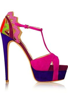 Brian Atwood Platform Sandal SS 2015 Shoes