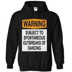 WARNING : SUBJECT TO SPONTANEOUS OUTBREAKS OF DANCING by Rob Price