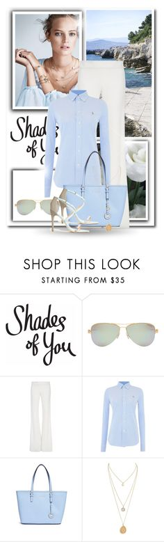 """Shades of You: Sunglass Hut Contest Entry"" by dezaval ❤ liked on Polyvore featuring Mix & Match, TIBI, Tiffany & Co., Brandon Maxwell, Polo Ralph Lauren, Michael Kors and shadesofyou"