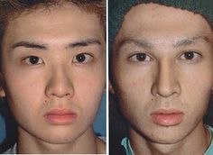 And yet, I don't see that he looks too much different. I wonder why he needed to be something so far from his natural reality?  Body image can be a problem for all races, genders and ages, obviously.   