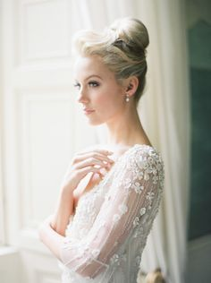 View entire slideshow: Real Brides Dress Shopping Secrets on http://www.stylemepretty.com/collection/4027/