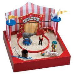 My Little Sandbox Circus Time sensory box idea