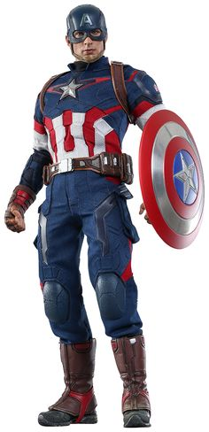 Captain America Sixth Scale Figure by Hot Toys