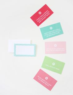 Southern sayings enclosure cards!  Perfect for tucking into little gifts :)