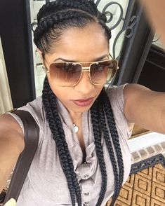#ToyaWright #Braids #VacationHairGoals