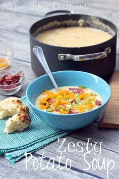 Zesty Potato Soup Recipe – Holiday Party Recipes