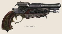 Sky Pirates - Pitch - Hero Pistol Steampunk | Jasper's Steampunk ...