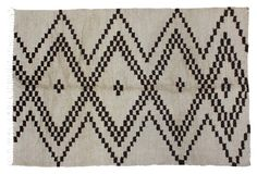 Moroccan Rug w/ Diamonds, 6'3'' x 8'5''