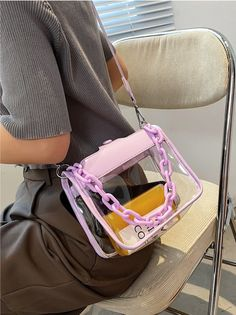 There is no way in heck we're going to ruin our game day outfit by carrying a gallon freezer bag. Bench the Ziploc, and take one of these cute stadium-approved purses to the football game instead! #stadiumbags #clearstadiumbags #clearstadiumpurse #clearhandbags #southernliving Southern Fashion, Southern Style, Fashion Bags, Fashion Beauty, Clear Handbags, Cute Bags, Football Season, Crossbody Bag, Satchel Bag