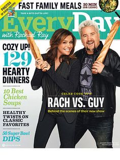 What's In the Issue: January-February 2012 Table of Contents for January-February 2012 Issue of Every Day with Rachael Ray