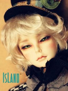 Island Doll Ball jointed doll.