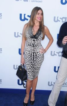 Sofia Vergara Photos - Celebs Arrive at the USA Upfront Event in NYC - Zimbio