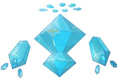 When I think of potential mega evolutions for Regice, all that comes to mind is angelic octehedrons. -------------- Type: Ice/Electric Ability: No Gaurd. Groudon Pokemon, O Pokemon, Pokemon Fusion, Loish, Mega Evolution, Creature Concept, Deviantart, Concept Art, Digital Art