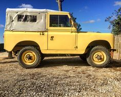 Land Rover 88 inch series II SOFT Top canvas