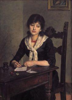 Salvetti, Antonio - Woman Writing