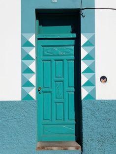 La puerta en La Puerto de la cruz Tenerife