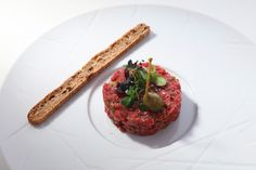 Tasty beef tartare at Le Mirador Resort & Spa Restaurant, Le Patio Resort Spa, Meatloaf, Tasty, Beef, Restaurant, Fresh, Food, Courtyards, Meat