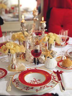 Raynaud Cristobal Coral Dinnerware by Alberto Pinto | Gracious Style