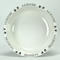 Fiesta kitty bowl >^. .^<