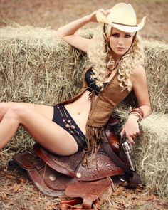 Choose between a roll in the hay or a shot in the head. Tough choice, aye? (wink)