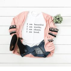 I am beautiful shirt