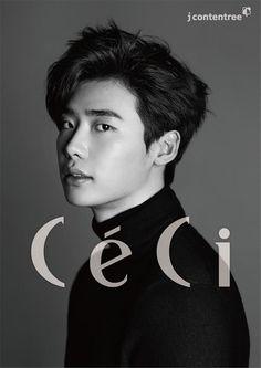 Lee Jong Suk - Ceci Magazine September Issue 2014