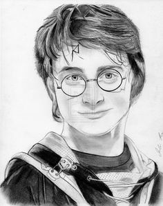 potter harry drawing sketch character deviantart drawings draw pencil easy sketches portrait daniel radcliffe painting pages sketching hogwarts birthday pen