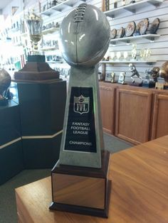 Philadelphia Eagles Fantasy Fan Trophy