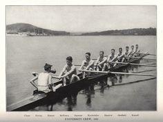 Yale rowing crew, 1922