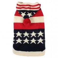 Farbenfroher Hundepullover. Dog sweater.