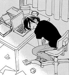 From Tsubaki-chou Lonely Planet / lovemangalovelife Manga Anime, Manga Art, Anime Guys, Anime Art, Tsubaki Chou Lonely Planet, Hirunaka No Ryuusei, Anime Expressions, Anime Style, Aesthetic Anime