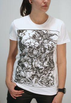Albrecht Durer  Four Horsemen of the Apocalypse  by EngramClothing, $23.00