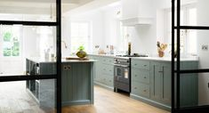 deVOL Kitchens make the Classic English Kitchen, Shaker Kitchen and Air kitchens. All our bespoke kitchens are handmade by deVOL cabinet makers in our Leicestershire workshops. Kitchen Color Trends, Best Kitchen Colors, Kitchen Paint Colors, Devol Kitchens, Shaker Style Kitchens, Door Furniture, Kitchen Furniture, Furniture Stores, Luxury Furniture