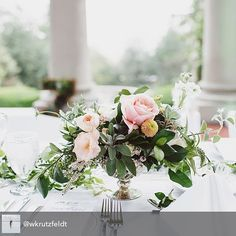 cool vancouver wedding The centrepieces from #mandzwed were  .  @wkrutzfeldt. Floral design by @celsiafloral, planning @sweetbakeshop. #weddings #centrepiece #floral #bride #weddingday #pretty #blooms #instaflower #weddingphotography #roses #wedding #hycroftmanor #weddingdecor #decor #realwedding by @theborrowedco  #vancouverwedding #vancouverweddingdecor #vancouverweddingvenue #vancouverwedding