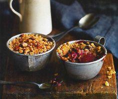 Bramley Apple, Pear and Blackberry Crumble - Waitrose Food