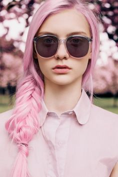 Pink pastel fishtail