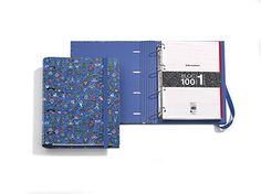 Carpeta Bloc Anillas UPS diseñada por Kukuxumusu. MIQUELRIUS - OOPS Cardboard Ring Folder Notebook Pad designed by Kukuxumusu. MIQUELRIUS
