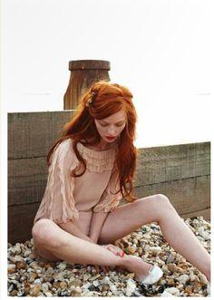 ~ #red #hair #redhead
